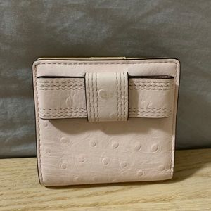 Kate Spade New York pink bow wallet